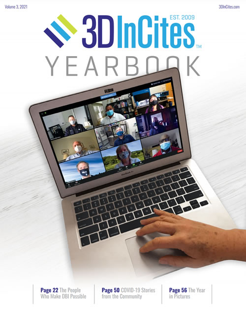 3DInCites YEARBOOK 2021 wurde veröffentlicht / 3DInCites YEARBOOK 2021 has been published